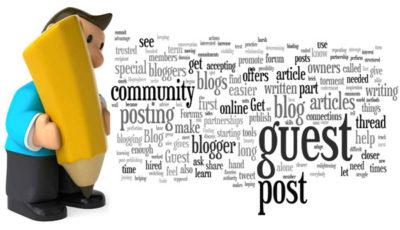 Major benefits of guest posting